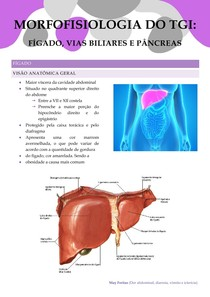 Morfofofisiologia (Fígado, vias biliares e pâncreas)