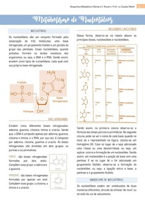 Metabolismo de Nucleotídeos