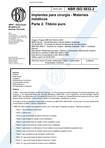 NBR 5832   Implantes para cirurgia   Materiais metalicos   Parte 2 Titanio puro