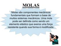 DESENHO MECANICO - MOLAS
