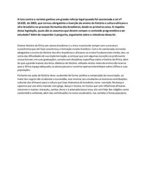 atividade 1 formação sócio histórica e política do Brasil