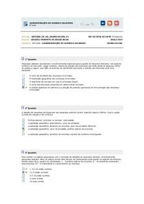 ADMINISTRAÇÃO DE CARGOS E SALÁRIOS aula 6