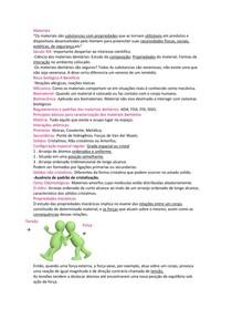 resumo materiais  dentários (introdução, ceras, matériais de moldagem...)