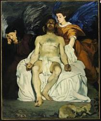 Edouard Manet - Le-Christ-Mort-et-les-Anges