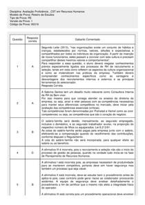 Gabarito Avaliacao Proficiencia  Cst Em Recursos Humanos RE V1 PRF 95316 original