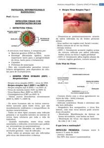 Infecções virais com manifestações bucais