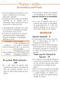 4 Recomendações nutricionais