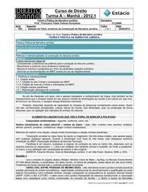 CCJ0009-WL-RA-05-TP na Narrativa Jurídica-Fatos Jurídicos na Narrativa Jurídica _24-08-2012_