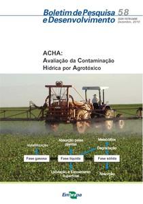 ACHA: Avaliação da Contaminação Hídrica por Agrotóxico