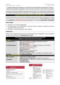Doença Hipertensiva Específica da Gestação (DHEG) [RESUMO]