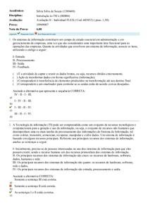 Avaliação II-TICs_Uniasselvi
