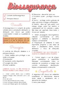 CONCEITO E PRINCIPIOS BASICOS DE BIOSSEGURANÇA ODONTO