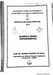 Apostila de Química Geral Aplicada UFPE pdf