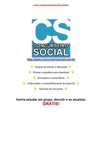 Concurseiro Social - Regime Jurídico do Servidores Públicos Civis da União Comentada - Lei nº 8112 de 1991