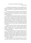 Desenvolvimento da linguagem e da subjetividade