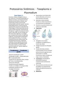 Protozoários Sistêmicos - Toxoplasma e Plasmodium