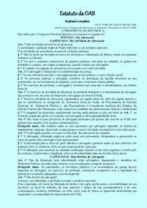 Estatuto Regulamento e Código de Ética editados
