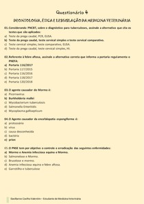 Deontologia - questionario 4