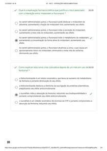 atividade NIS 2 - INTERAÇÕES MEDICAMENTOSAS 4 semestre uninove