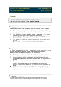 Disciplina prova regime anduadeiro
