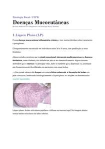 Doenças Mucocutâneas- Líquen Plano, Penfigóide, Pênfigo, Lúpus Eritematoso