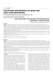 Psicoterapia psicodinâmica em grupo para fobia social generalizada