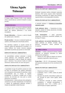 Edema Agudo Pulmonar (EAP)