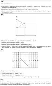 Matematica Fuvest Teste