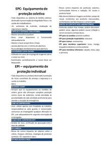 EPC e EPI