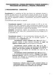 Os Procedimentos no Código de Processo Penal