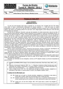 CCJ0009-WL-AV1-Teoria e Prática da Narrativa Jurídica -Trabalho-02 para AV1 (14-09-2012)