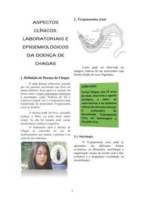 ASPECTOS CLÍNICOS, LABORATORIAIS E EPIDEMIOLÓGICOS DA DOENÇA DE CHAGAS