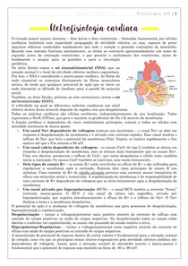 Cardio: eletrofisiologia cardíaca