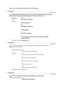TELEAULA 1 SISTEMAS DE INFORMAÇÃO NO SETOR PÚBLICO