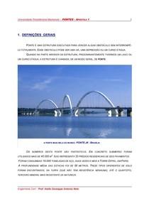APOSTILA DE PONTES