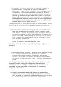 GESTAO DE DESEMPENHO NA ORGANIZAÇAO