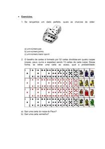 Fórmula de Probabilidade