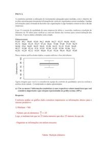 estatística aplicada a engenharia