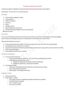Trichomonas vaginalis e Tricomoníase