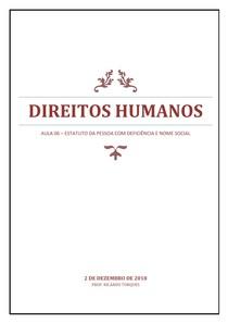 Direitos Humanos - AULA 06