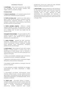 Anamnese + exame mental psiquiátrico