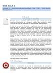 UN 1 Visão geral da materia Administração de Produção e Logística