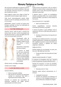 Modificações fisiológicas da gravidez
