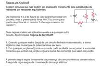Regras de Kirchhoff - Eletromagnetismo - Física