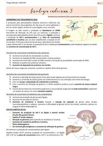 Fisiologia Endócrina- GH, Paratireoide e Metabolismo do Cálcio com patologias