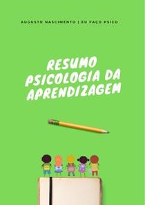 Resumo Psicologia da Aprendizagem