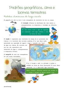 Padrões geográficos e biomas