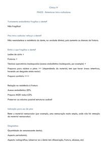 Pinos intra-radiculares