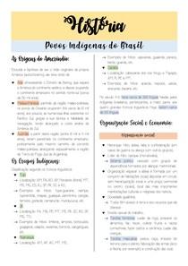 RESUMO DE POVOS INDÍGENAS DO BRASIL