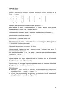 Álgebra Linear parte 1
